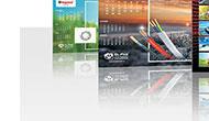 Portfolio - Kalendarze listwowane #1