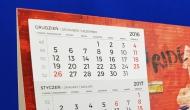 Portfolio - Kalendarz biurkowy #1
